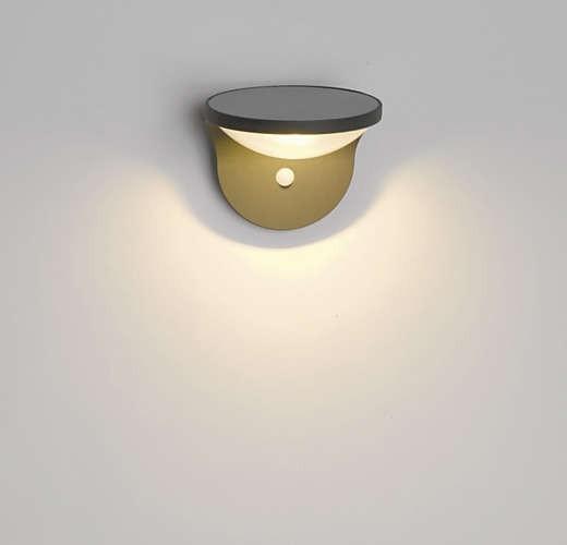 Philips 178089316 Dusk kültéri fali lámpa (antracit szürke) 1x1W napalemes, mozgásérzékelős