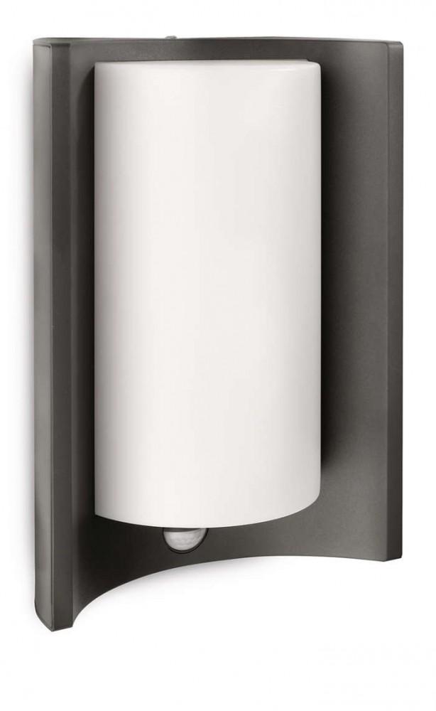 Philips 164059316 Meander kültéri fali lámpa (antracit szürke) 1x20W mozgásérzékelős