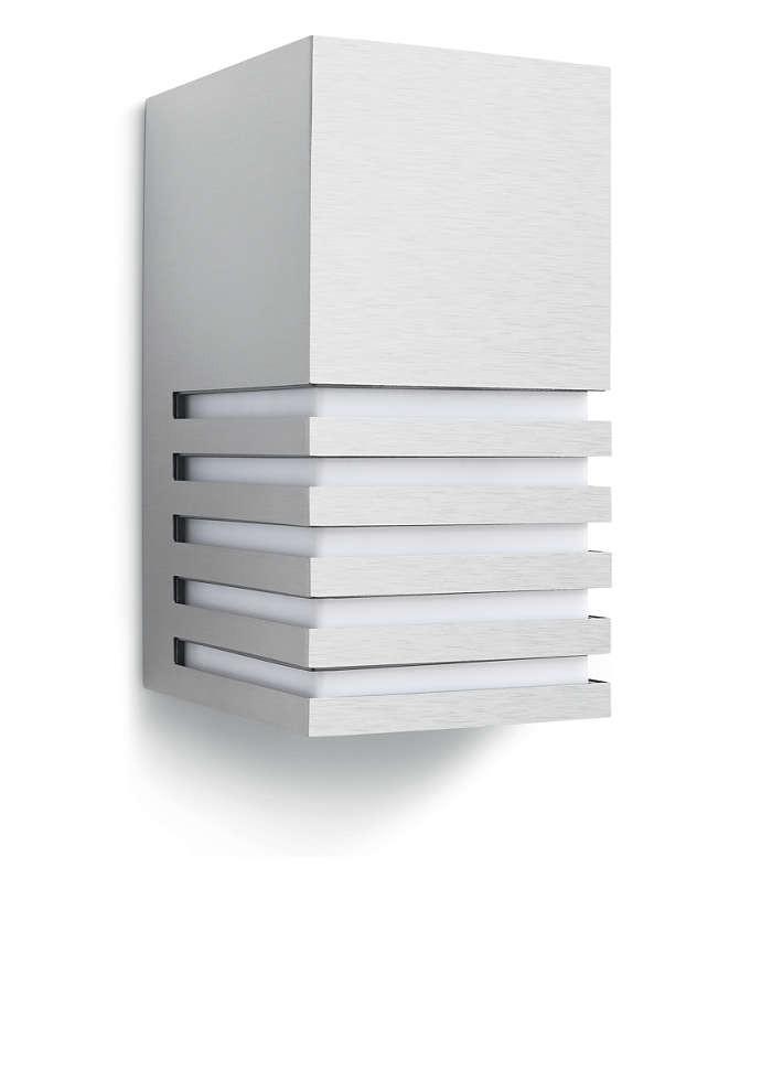 Philips 164124716 Veranda kültéri fali lámpa (rozsdamentes acél) 1x20W 230V