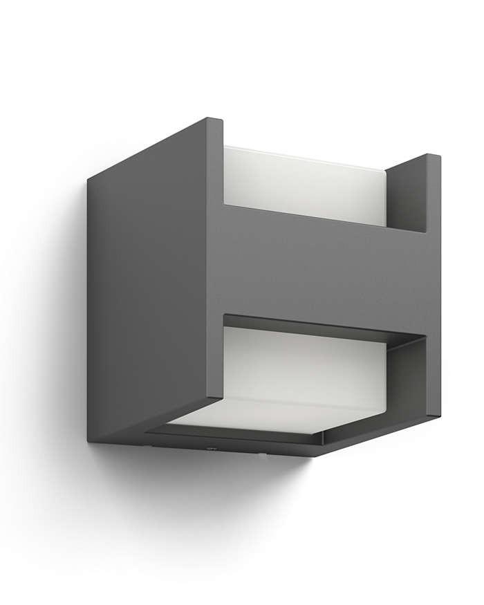 Philips 164599316 Arbour kültéri fali lámpa (antracit szürke) 2x4.5W 230V