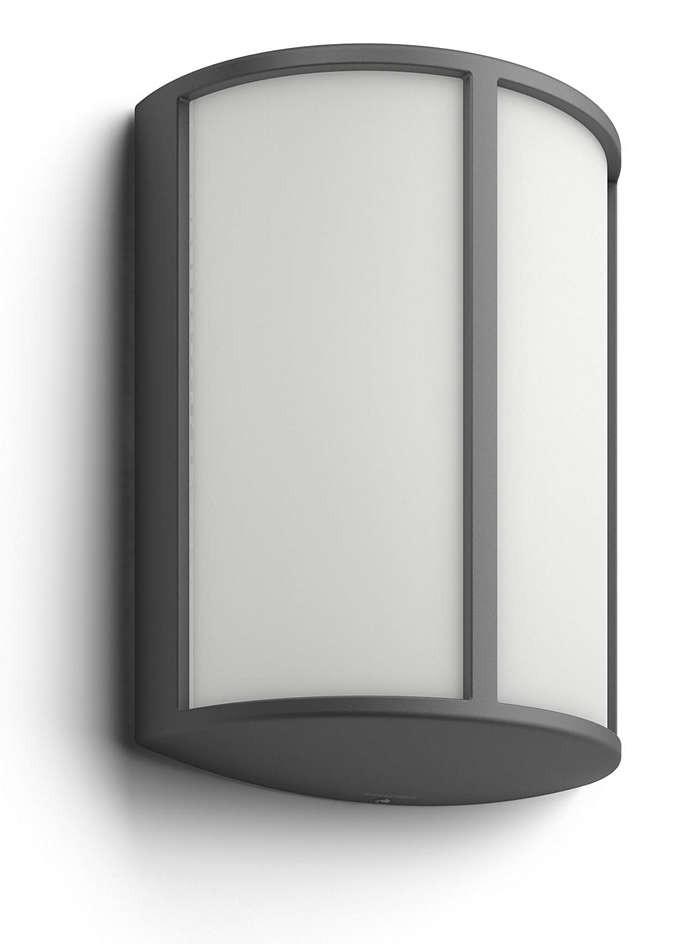 Philips 164649316 Stock kültéri fali lámpa (antracit szürke) 2700K 1x6W