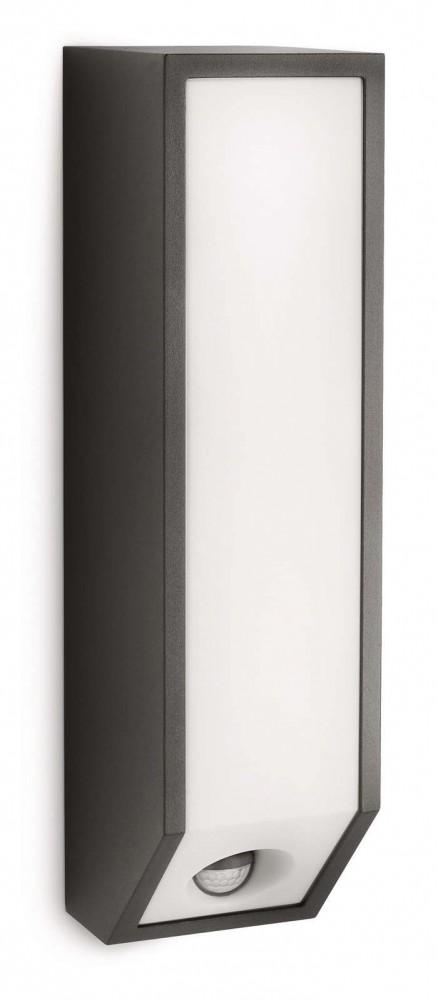 Philips 169339316 Feather kültéri fali lámpa (antracit szürke) 1x18W mozgásérzékelős