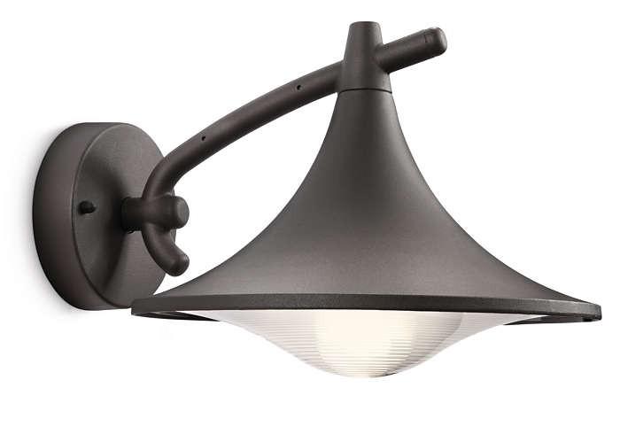 PHILIPS  Cedar wall lantern anthracite 1x15W 230V17207/93/16
