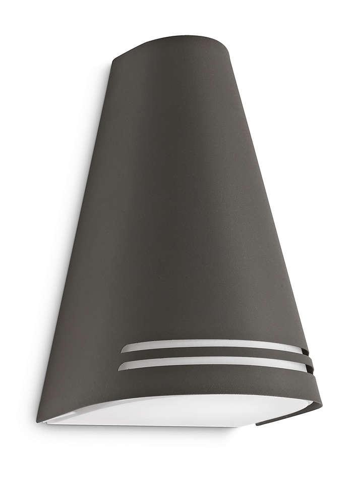 Philips 172269316 Woods kültéri fali lámpa (antracit szürke) 1x15W 230V