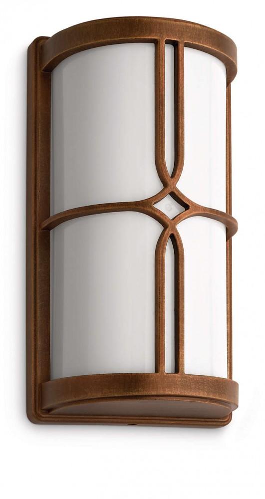 Philips 172490616 Nectar kültéri fali lámpa (bronz) 1x20W 230V