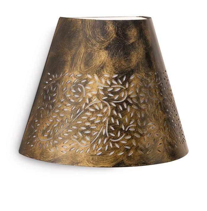 PHILIPS  Meadow wall lantern BlackBrush 1x20W 23017257/42/16