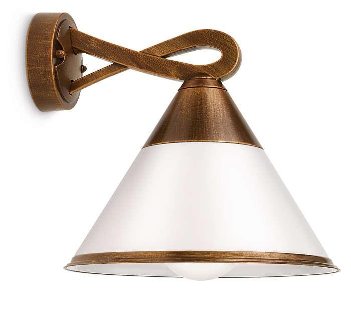 PHILIPS  Fig wall lantern bronze 1x15W 230V17259/06/16