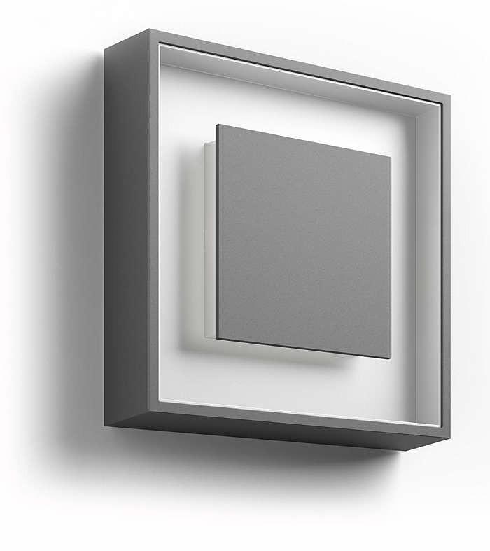PHILIPS  Sand wall lantern anthracite 1x6W 230V17294/93/16