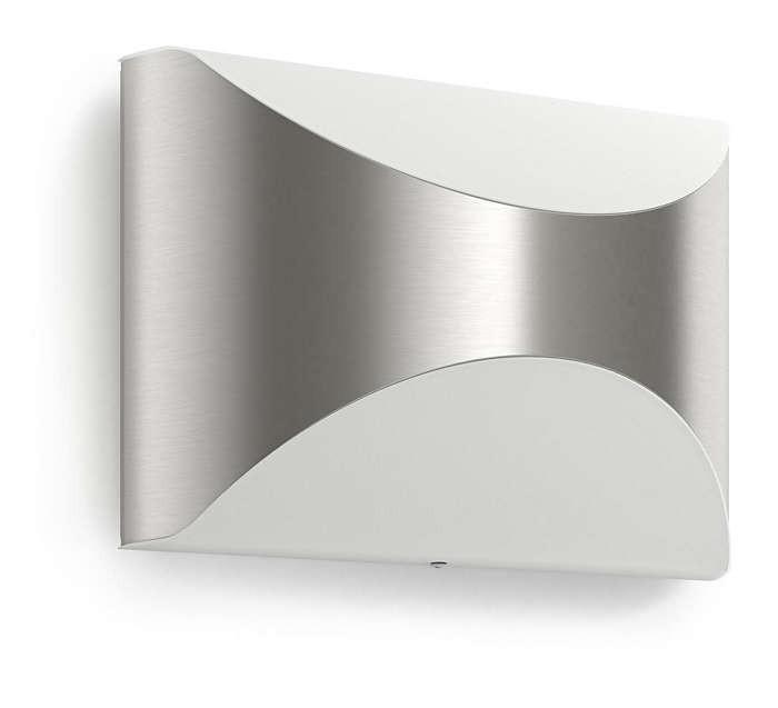 Philips 172984716 Herb kültéri fali lámpa (rozsdamentes acél) 1x6W 230V