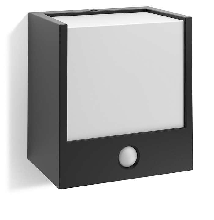 PHILIPS  Macaw wall lantern black 1x3.5W 230V17317/30/16