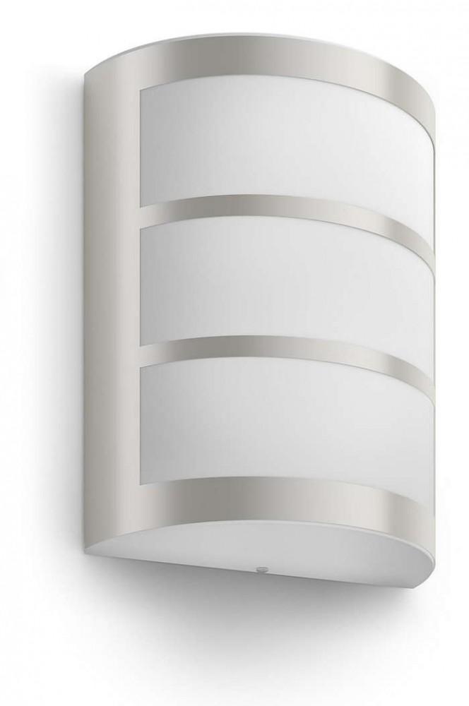 PHILIPS  Python wall lantern inox 1x6W 230V17323/47/16