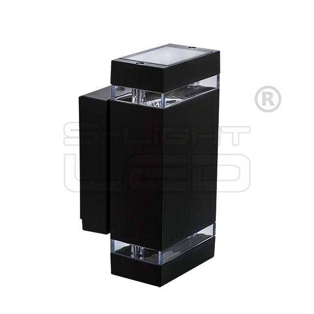 KANLUX ZEW EL-235J-B lámpa GU10 Fekete szögletes