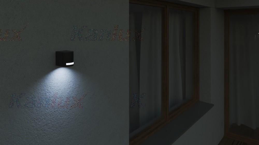 KANLUX NOVIA EL 120 D IP44 OLDALFALI (1xGu10) 25662