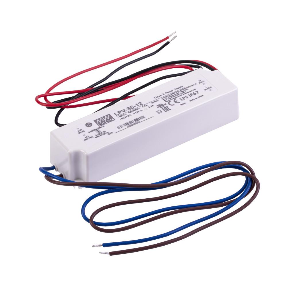 MEANWELL 35W LPV-35-12 35W-12V LED tápegység
