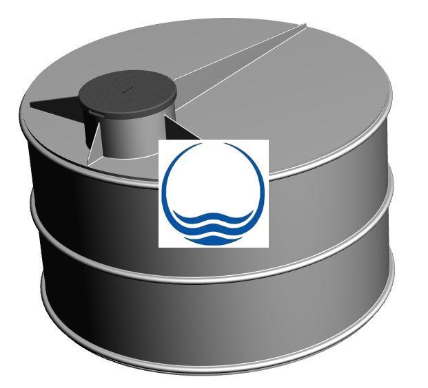 3.1. - 5 m3-es PPE/PEE műanyag esővíz gyűjtő tartály