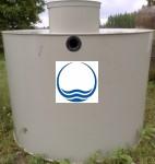 8 m3-es PPSZ/PESZ műanyag szennyvízgyűjtő tartály