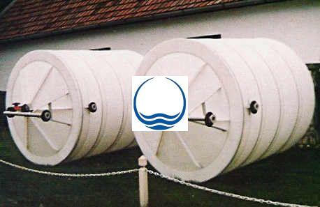 6 m3-es PPW/PEW - műanyag ivóvíz tároló tartály