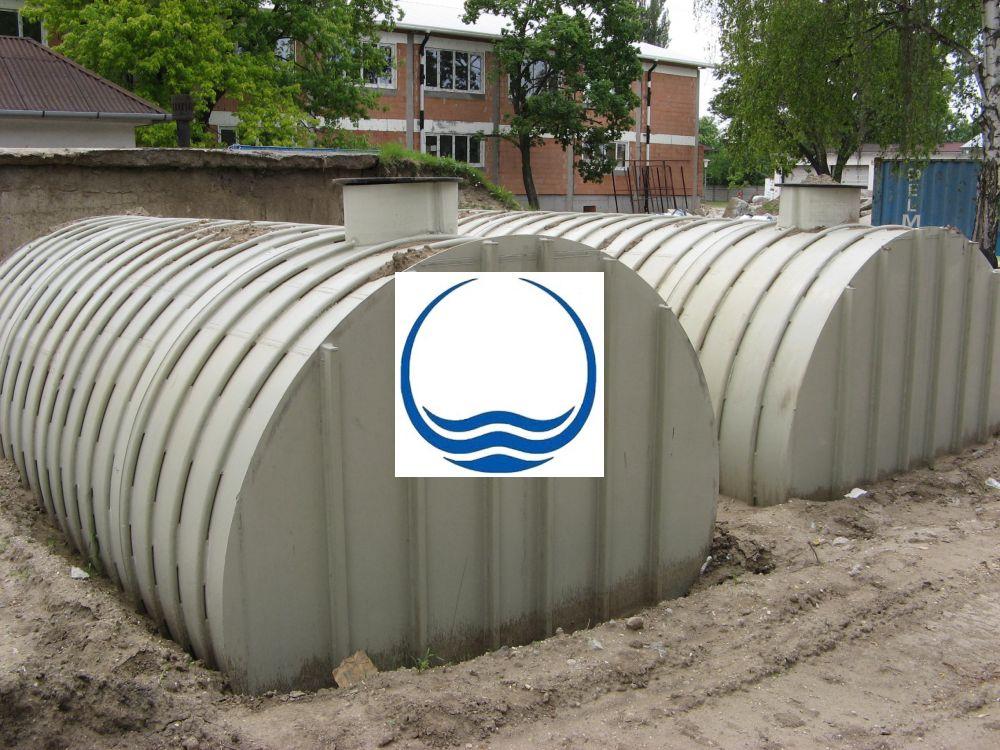 8 m3-es PPW/PEW - műanyag ivóvíz tároló tartály