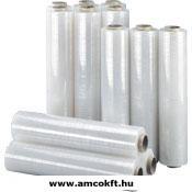 HIPAC Sztreccsfólia, kézi, 500mm, 300m, 12my, 1,95kg/tekercs, 6tekercs/doboz
