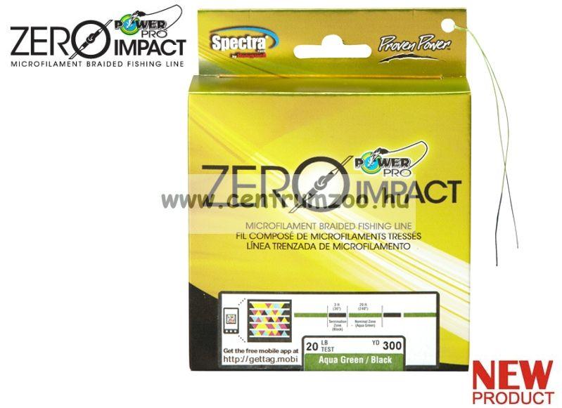 Power Pro Zero Impact fonott zsinór 135m 0,36mm 30kg AG