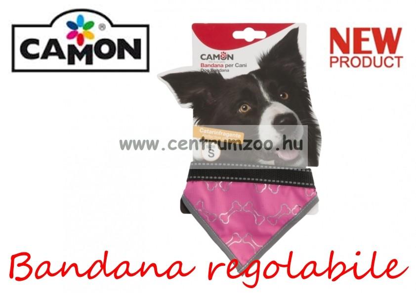 Camon_Bandana_regolabile_Fluo_Rosa_Medium_kend
