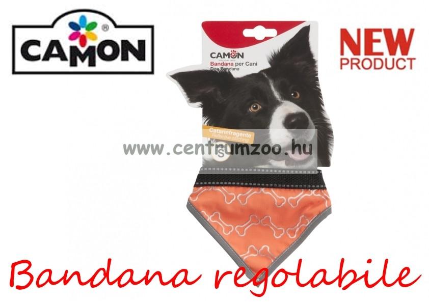 Camon_Bandana_regolabile_Fluo_Orange_Small_ken