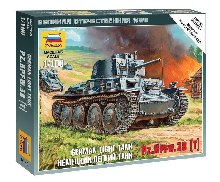 German_Light_Tank_PzKpfw_II_tank_makett_Zvezda_6