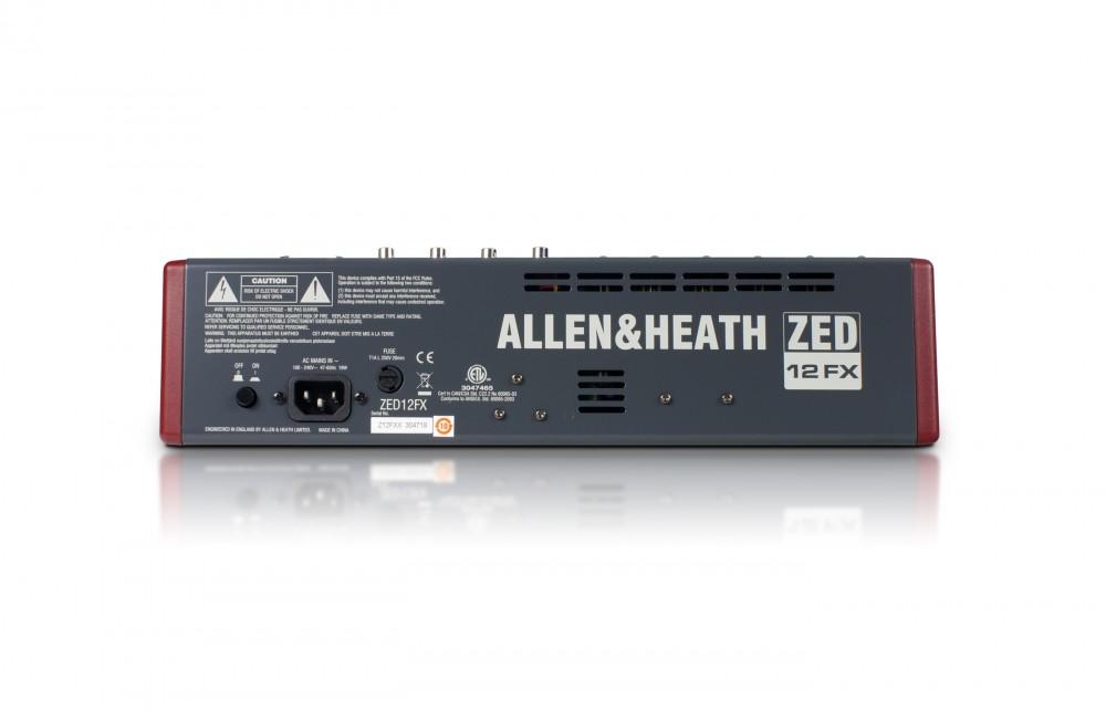 ALLEN & HEATH AH-ZED12FX 6MIC-3ST-USB-FX KEVERŐ