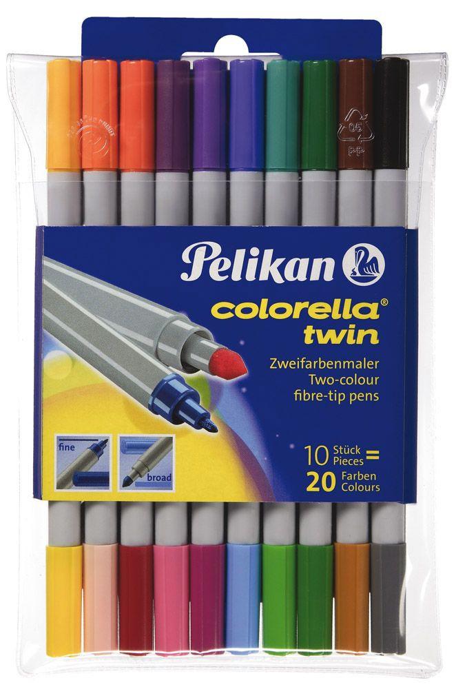 Pelikán Colorella Twin C304-es dupla filctol