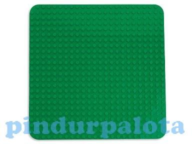 2304 LEGO DUPLO Nagy zöld építőlap