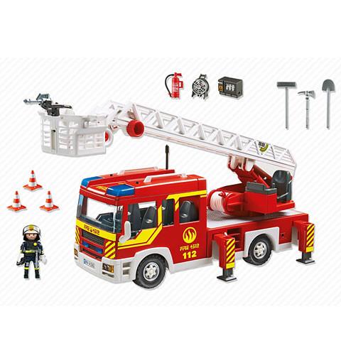 Playmobil Emelőkosaras tűzoltóautó 5362