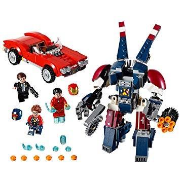 76077 LEGO Super Heroes Vasember Detroet Steel támadása