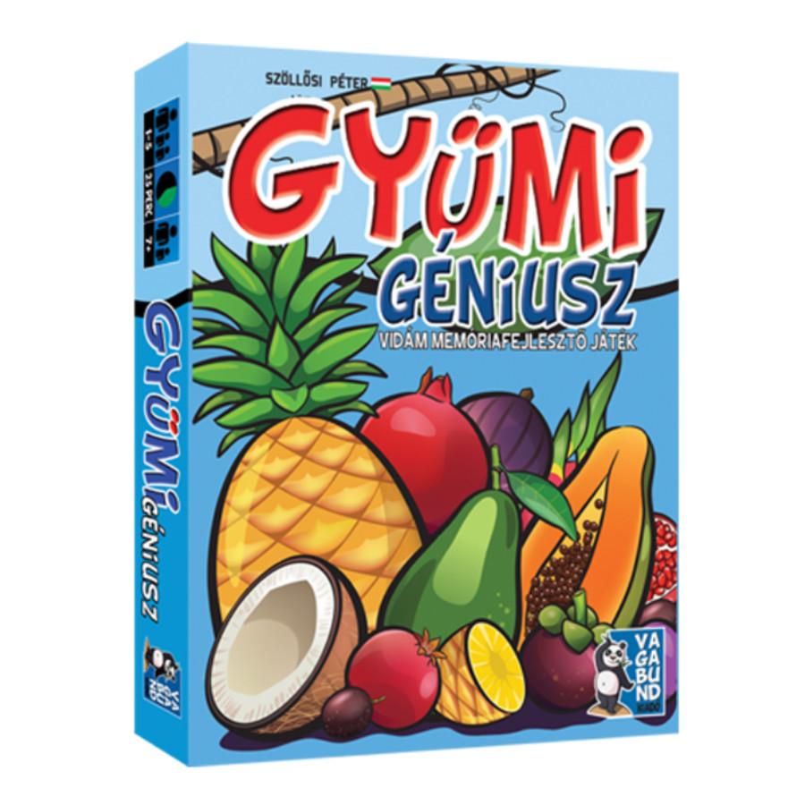 Gyümi géniusz kártyajáték - Piatnik