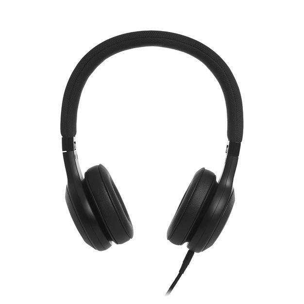 JBL E35BLK fekete fejhallgató headset