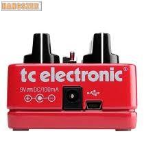 TC Electronic Hall of Fame Reverb zengető effekt pedál