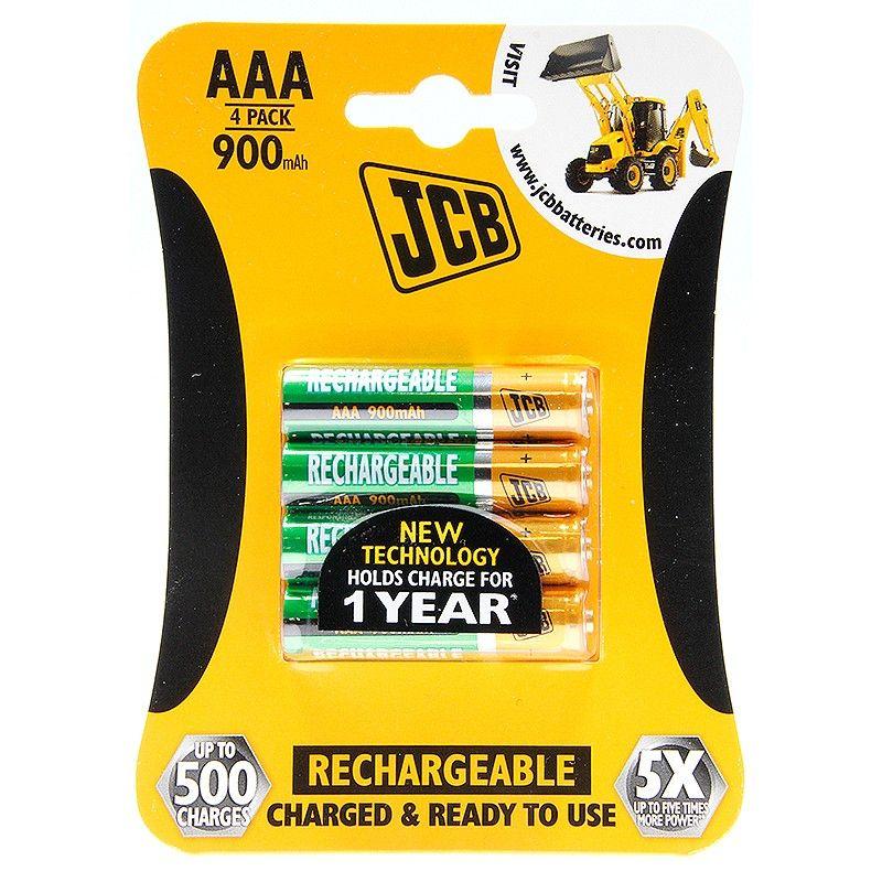 JCB Ni-Mh akkumulátor AAA 900Mah