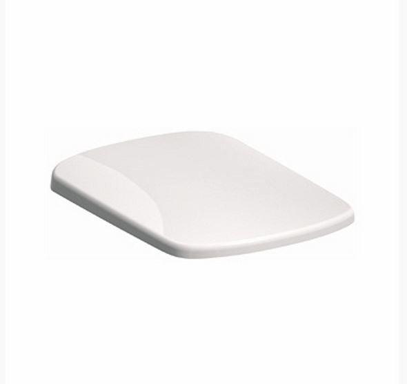 KERAMAG KOLO NOVA PRO PICO szögletes WC ülőke, Softclose / lecsapódás elleni védelem, Click2clean / könnyű takarítás, antibakteriális, újdonság, lassú leeresztésű, fehér / M30118 / M30118000