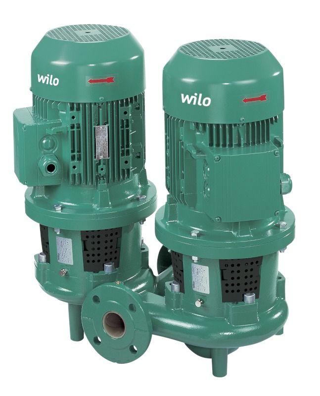 WILO CronoTwin DL 65/270-5,5/4 Száraztengelyű szivattyú in-line kivitelben / 2089259