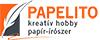 Papelito - kreatív hobby, papír- írószer
