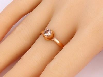Cserélhető kristályos nemesacél gyűrű