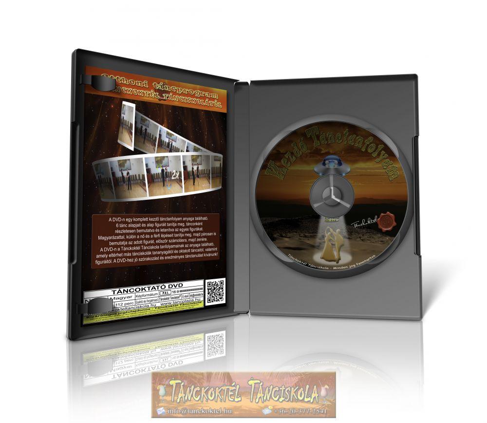 Kezdő Tánctanfolyam - TÁNCOKTATÓ DVD