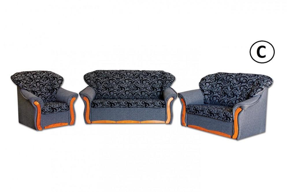 Evelin 3-as kanapé